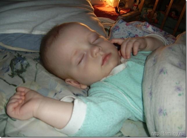 Спящий ребенок это не только мило, но и наконец-то:)