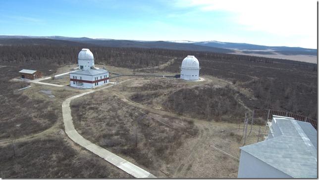 Еще телескопы:). Солнечная Саянская обсерватория