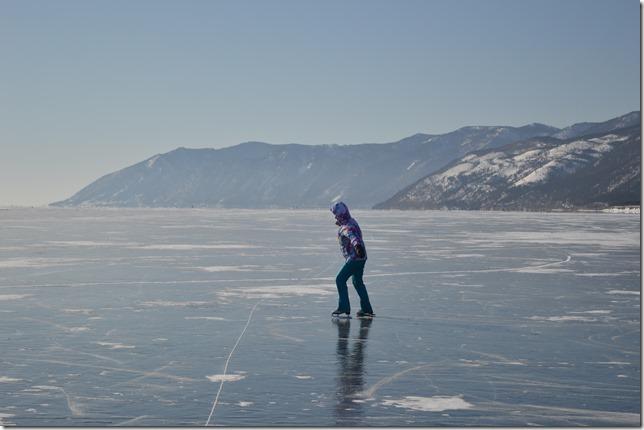 Байкальский лед - Большое Голоустное