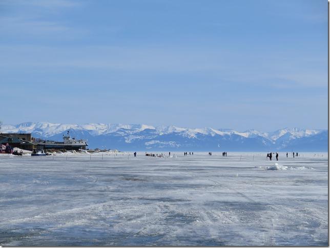 Листвянка - Байкальский лед